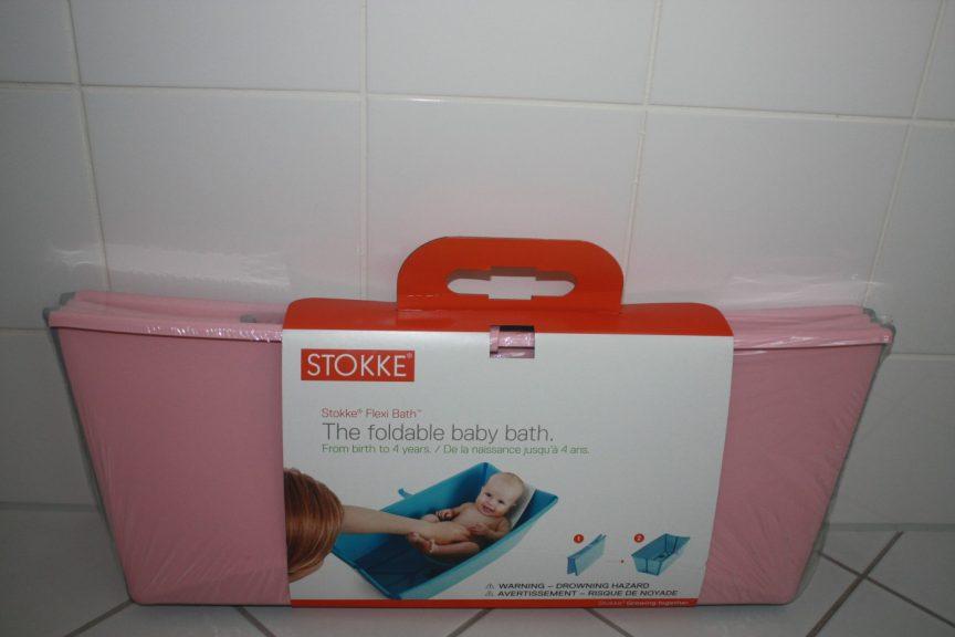 Eerste hulp bij moederangsten: Stokke Flexi Bath