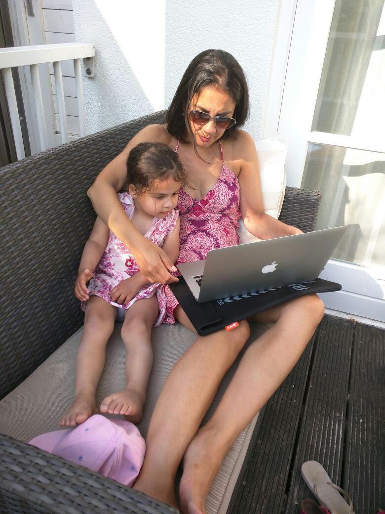 Online shoppen, ideaal voor drukke moeders
