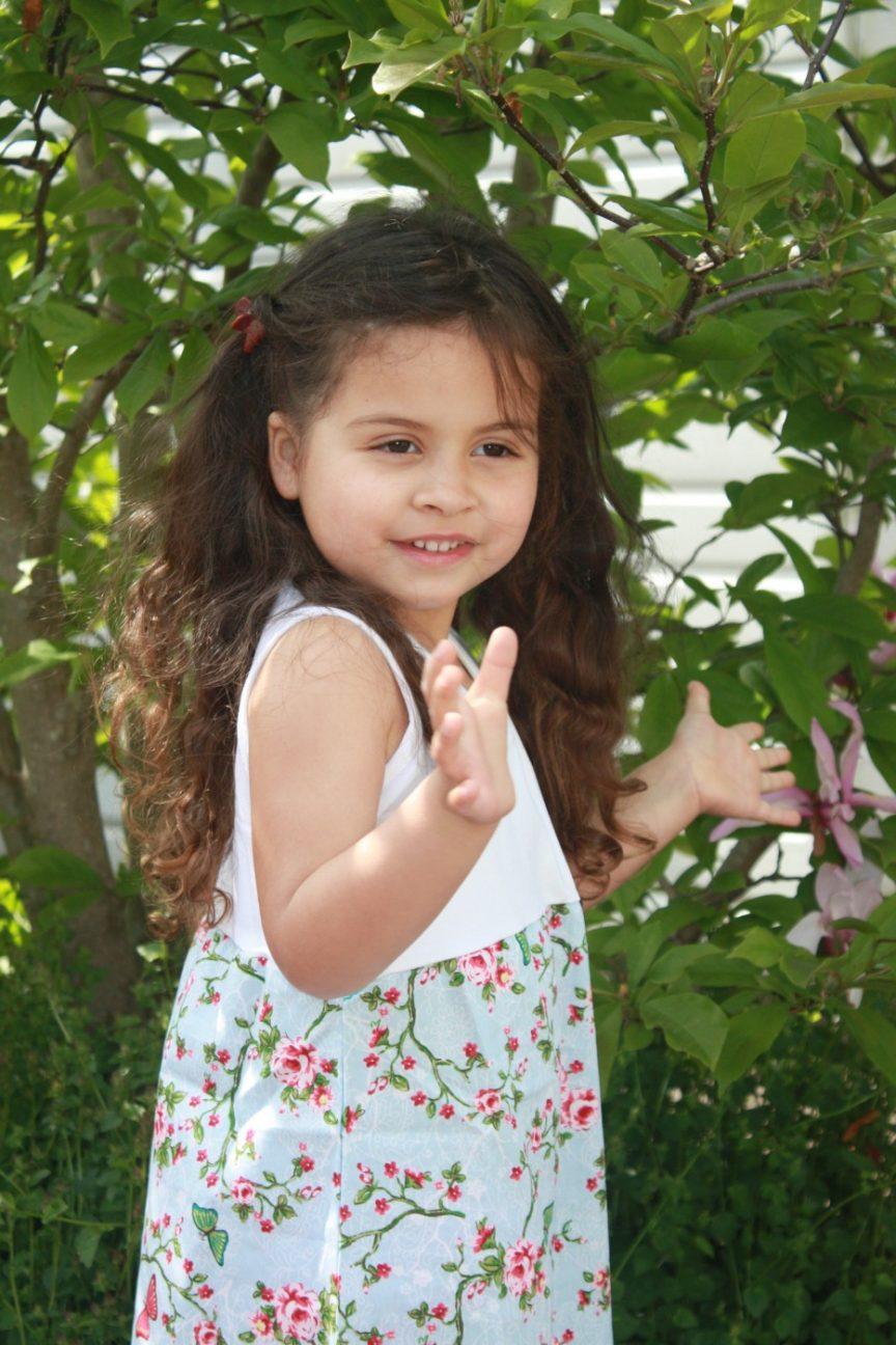 Iets met een klein meisje en jurkjes review ninie - Kleurenkamer klein meisje ...