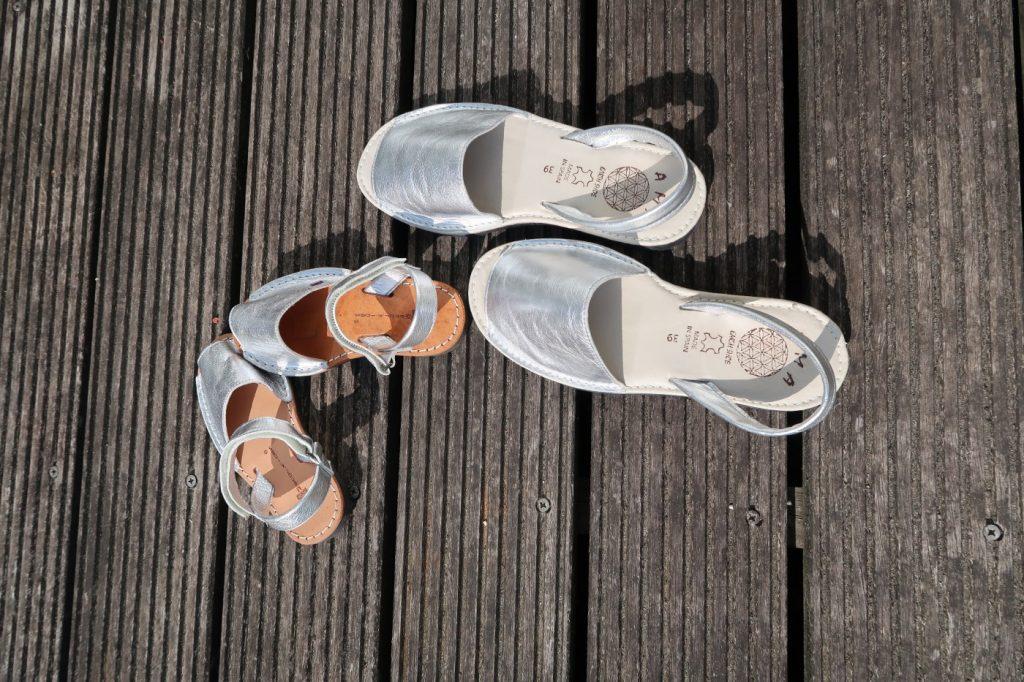 Sandaaltjes voor zomers èn minder zomers weer