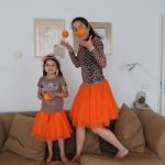 When life gives you oranges … you dance in an orange tutu