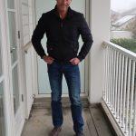 Walking on my blue (and grey) leather shoes – schoenen voor de man