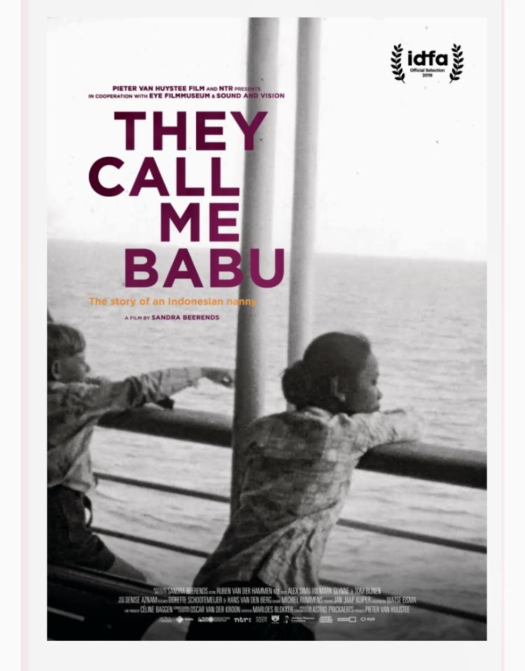 Het gemis overvalt mij tijdens het kijken van 'They call me babu'